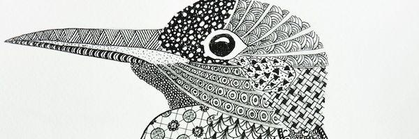 Anya Langerak Ijsvogeli zendoodle banner_1