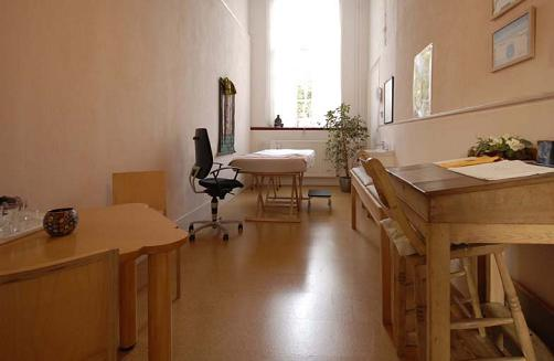 Kleine behandelkamer